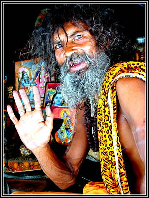 Photograph - An Indian Saint by Anand Swaroop Manchiraju