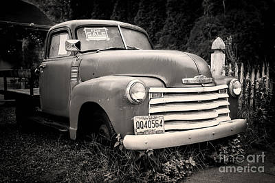 49 Chevy Cheap Art Print by Jerry Fornarotto