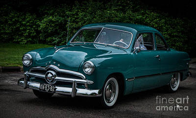 Photograph - 49 Ford by Ronald Grogan