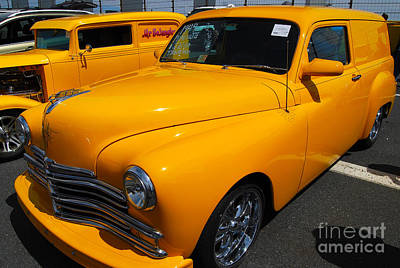 Photograph - '49 Plymouth Sedan Delivery by Mark Spearman