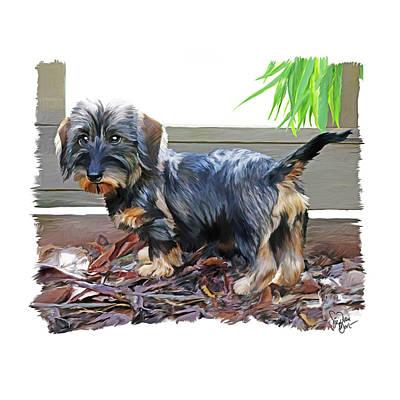 Dog Wall Art - Digital Art - 49. Pup by Sigrid Van Dort