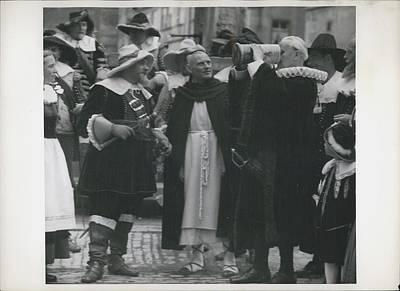 Schmidt Photograph - In Honor Of Inventor Bernhart Schmidt by Retro Images Archive