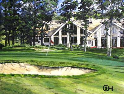 Painting - 4th Andrew Hudson Memorial Golf Tournament by Kevin F Heuman