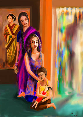 4th Generation Art Print by Parag Pendharkar