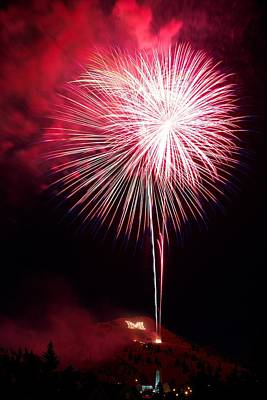 Art Print featuring the photograph 4th July Butte Mt 2013 by Kevin Bone