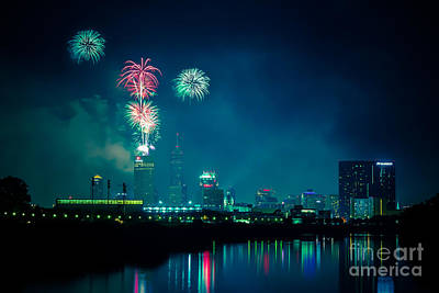 4th Of July At Indianapolis Art Print by Jose Sanchez