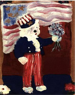 Mixed Media - 4th Of July by Cathy Howard