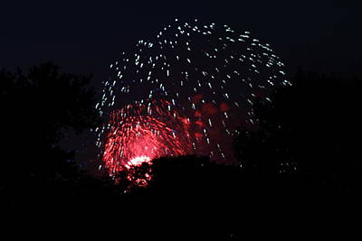 Photograph - 4th Of July Fireworks - 011316 by DC Photographer
