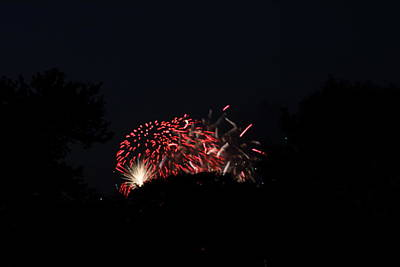 Evening Photograph - 4th Of July Fireworks - 011318 by DC Photographer