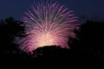 Evening Photograph - 4th Of July Fireworks - 01132 by DC Photographer