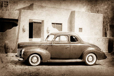 1940 Ford Deluxe Coupe Art Print by Jill Reger