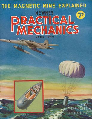 1940s Uk Practical Mechanics Magazine Art Print by The Advertising Archives