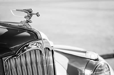 Photograph - 1942 Packard Darrin Convertible Victoria Hood Ornament by Jill Reger