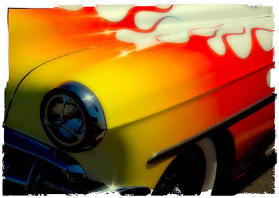 Transportation Photograph - 1954 Chevy Bel Air Custom Hot Rod by David Patterson