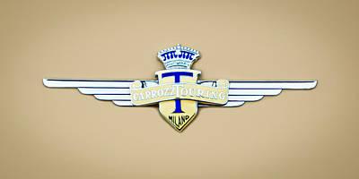 Photograph - 1954 Hudson Italia Touring Coupe Emblem by Jill Reger