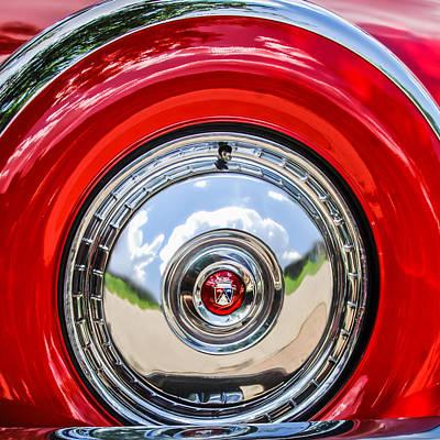 1956 Ford Photograph - 1956 Ford Thunderbird Emblem by Jill Reger