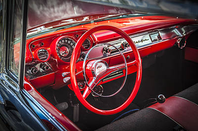Big Block Chevy Photograph - 1957 Chevrolet Bel Air by Rich Franco