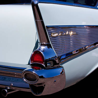 Chevy Bel Air Photograph - 1957 Chevy Bel Air Custom Hot Rod by David Patterson