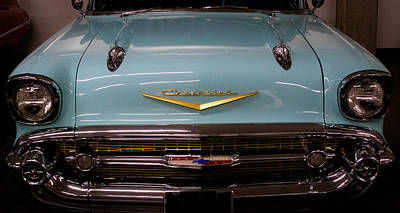 Collector Car Photograph - 1957 Chevy Bel Air by David Patterson