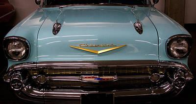 Katharine Hepburn - 1957 Chevy Bel Air by David Patterson