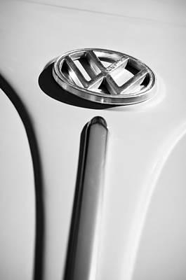 1960 Photograph - 1960 Volkswagen Vw Emblem by Jill Reger