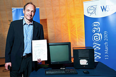 Berner Photograph - 20 Years Of The World Wide Web by Cern