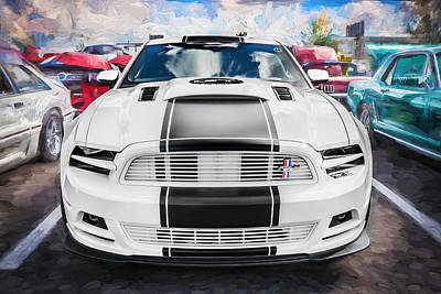 Photograph - 2014 Ford Mustang Gt Cs Painted  by Rich Franco