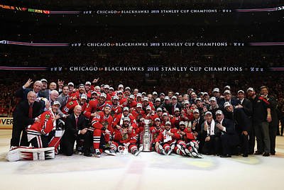 Playoffs Photograph - 2015 Nhl Stanley Cup Final - Game Six by Dave Sandford