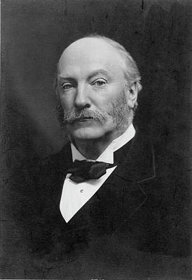 Strutt Photograph - 3rd Baron Rayleigh by Granger