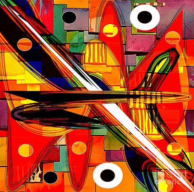 Abstract Art Collection Art Print by Marvin Blaine
