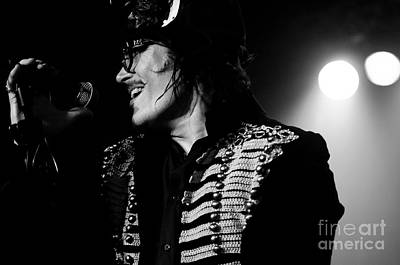 Photograph - Adam Ant by Jenny Potter