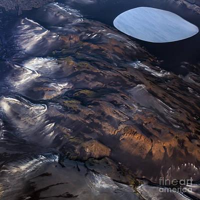 Aerial Photography Art Print by Gunnar Orn Arnason