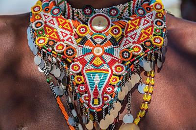 Beadwork Photograph - Africa, Kenya, Samburu National Reserve by Emily Wilson