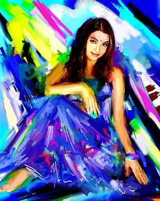 Aishwarya Rai Art Print