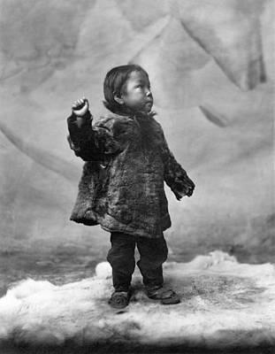 Photograph - Alaska Eskimo Child by Granger