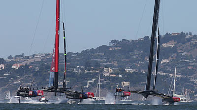Photograph - America's Cup 34 New Prices by Steven Lapkin