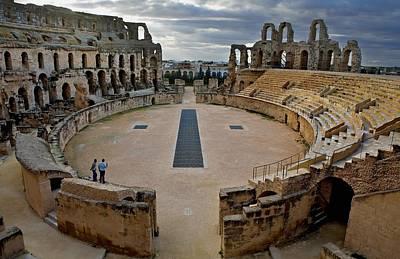 Amphitheatre Of El Djem. 238. Tunisia Art Print