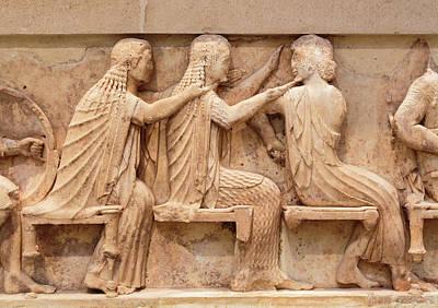 Ancient Delphi, Greece. Museum Art Print by Ken Welsh