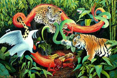 5 Animals Of Shaolin Kung Fu Original