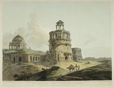 Antiquities Of India Art Print