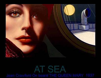 Joan Crawford Painting - At Sea by George Torjussen