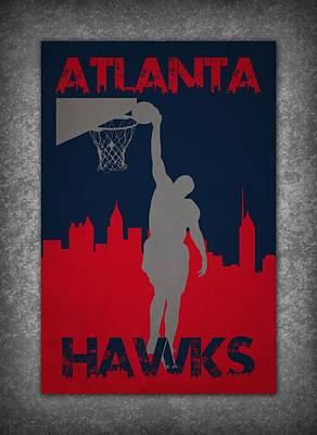 Atlanta Hawks Photograph - Atlanta Hawks by Joe Hamilton