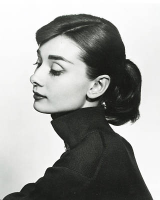 Globe Photograph - Audrey Hepburn by Retro Images Archive
