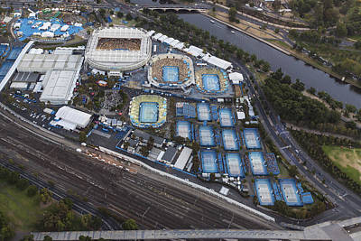 Photograph - Australian Open Tennis Championships by Brett Price