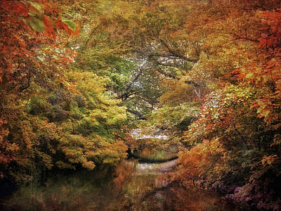 Photograph - Autumn Canvas by Jessica Jenney