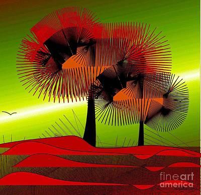 Digital Art - Autumn Colours by Iris Gelbart