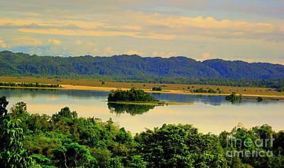 Photograph - Ayamaru Lake by Jason Sentuf