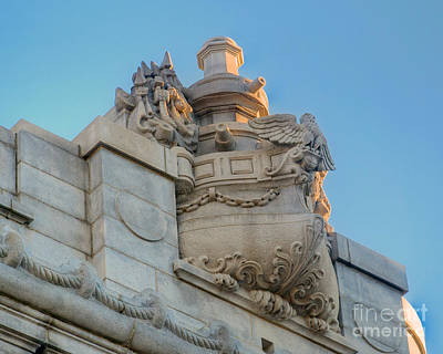 Photograph - Bancroft Hall by Mark Dodd