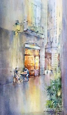 Painting - Barcelona by Natalia Eremeyeva Duarte