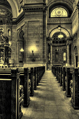 Block Party Photograph - Basilica Of Saint Mary by Amanda Stadther